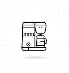 espresso machine icon vector image