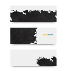 Grunge template header design vector