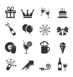 Holiday an icon2 vector