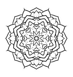 mandala arabic3 vector image