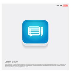 pencil paper icon vector image