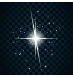 Shine star sparkle icon vector