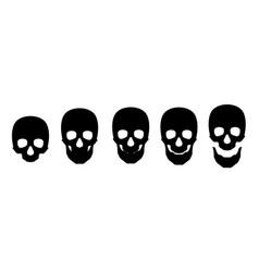 skull icon symbol template vector image