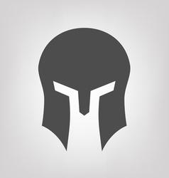 Spartan helmet vector