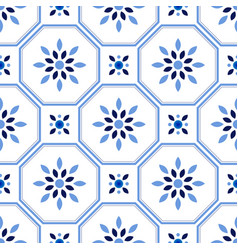 tile pattern vector image