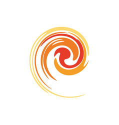 spiral - a symbol of perpetual motion vector image vector image