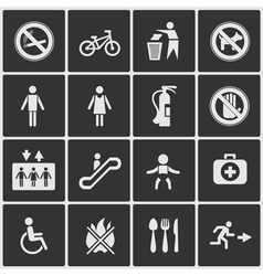 Pointers for society vector image