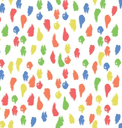 Seamless Pattern with Paint Smear Background vector image