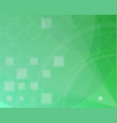 Abstract green background spring day vector