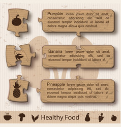 abstract healthy infographic concept vector image