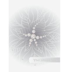 art flower background vector image