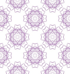 colored seamless pattern of openwork stars vector image