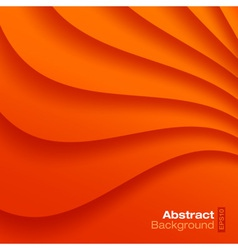 Orange Wavy background vector