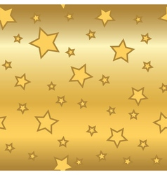 Stars gold background cartoon glitter golden vector