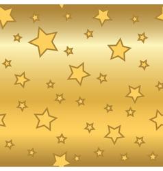 Stars gold background cartoon glitter golden vector