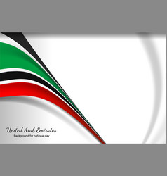 uae background design vector image