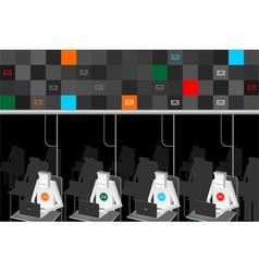 Network Technologies vector image vector image