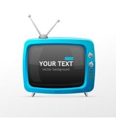 Tv blank vector image vector image
