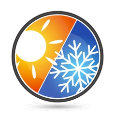 design air conditioning vector image