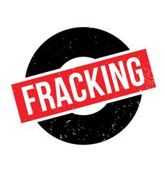 Fracking rubber stamp vector