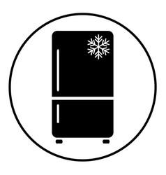 refrigerator 09 vector image
