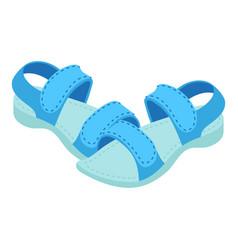 Sandals icon isometric style vector