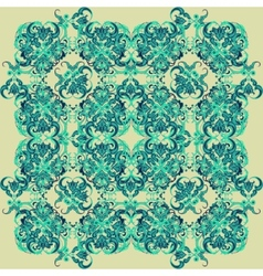 Seamless abstract floral pattern 7 vector image