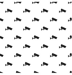 security camera pattern vector image
