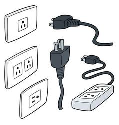Set plugs vector