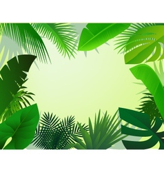 nature forest vector image vector image
