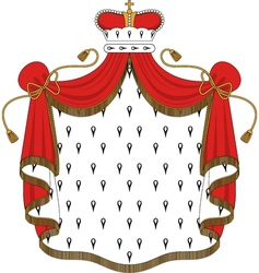 Royal mantle vector