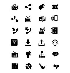 Communication Icons 2 vector image vector image