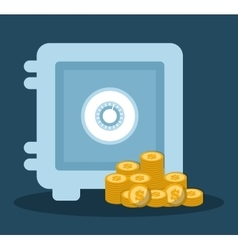 banking related icons image vector image