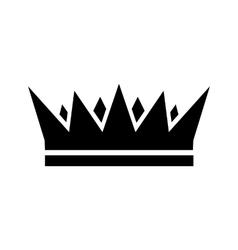 Crown icon simple vector