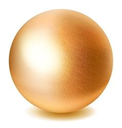 Golden sphere vector