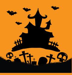 Hallowen background vector