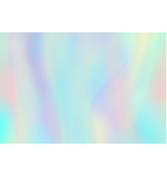 rainbow texture hologram foil iridescent vector image