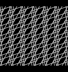 Seamlessly repeatable abstract monochrome grid vector