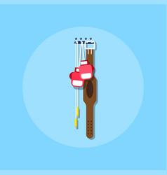 training equipment icon vector image