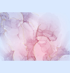 transparent pink dynaic marble creativity vector image