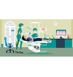 dentist vector image vector image