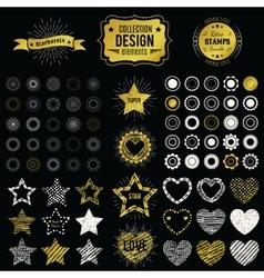 Collection of premium design elements vector