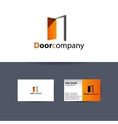 The Door company logo vector image vector image