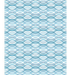 abstract wavy lines seamless pattern vector image