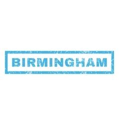 Birmingham Rubber Stamp vector image
