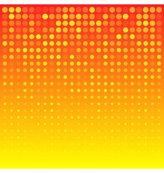 Abstract Bright Orange Background for your design vector image vector image