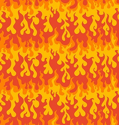abstract fire seamless pattern vector image