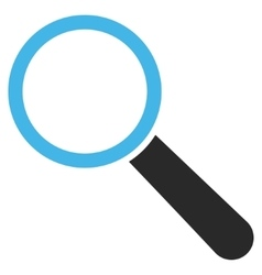 Find Tool Flat Pictogram vector image
