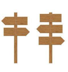 wooden board 04 vector image