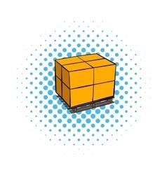 Pallet comics icon vector image